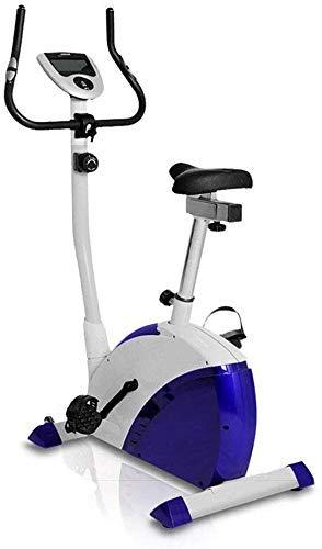 GJJSZ Idealer Cardio-Trainer Sportausrüstung Mini,Verstellbarer magnetischer Fahrrad-Turbotrainer,Indoor-Bike-Trainer-Heimtrainer,Fitness-Heimtrainer