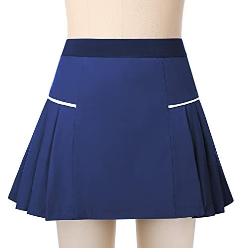 Sykooria Mini Jupe Short de Sport Femme 2 in 1...
