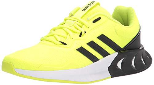 adidas Kaptir Super - Zapatillas de Correr para Hombre, Solar Yellow Black Black, 41 1/3 EU