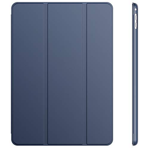 JETech Custodia per iPad Air 2, con Funzione di Supporto, Auto Svegliati Sonno, Blu Marino