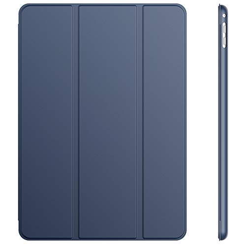 JETech Hülle Kompatibel iPad Air 2, Schutzhülle mit Ständer Funktion & Auto Schlaf/Wachen, Navy Blau