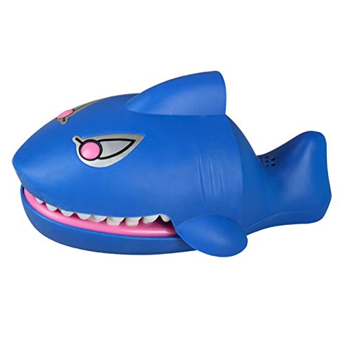 Shark Dentist Bite Finger Toy, Juego De Sonido Eléctrico Brillante, Cocodrilo De...