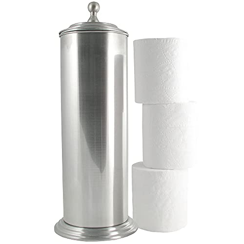 Top 10 best selling list for spare toilet paper holder brushed nickel