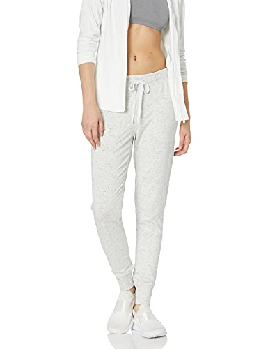 Amazon Essentials Women's Studio Terry Relaxed-Fit Jogger Pant, Light Grey NEP Heather, S