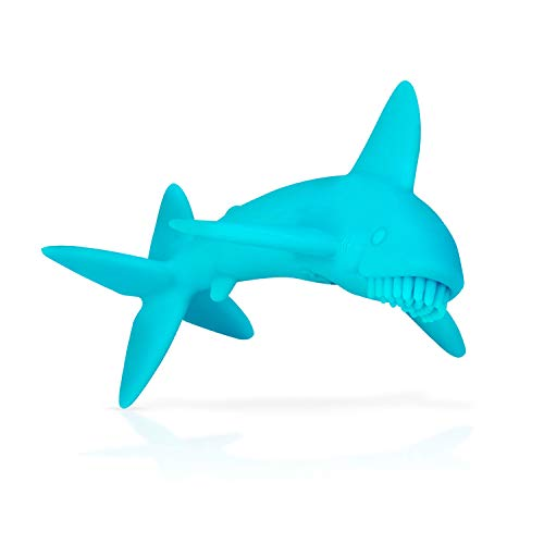 Nuby Shark Massaging Teething Toy for Babies
