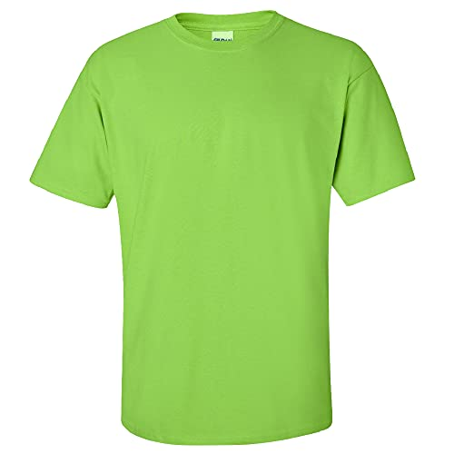 Gildan Men's G2000 Ultra Cotton Adult T-shirt, Lime, Large