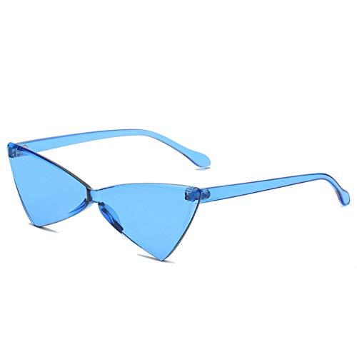 ZLC Dazzling Color Triangle Gafas de sol Fashion One Piece Party Funny Sunglasses