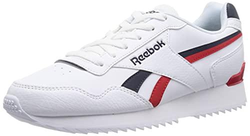 Reebok Royal Glide Ripple Clip, Zapatillas de Running Hombre, FTWBLA/VECNAV/VECRED, 42 EU