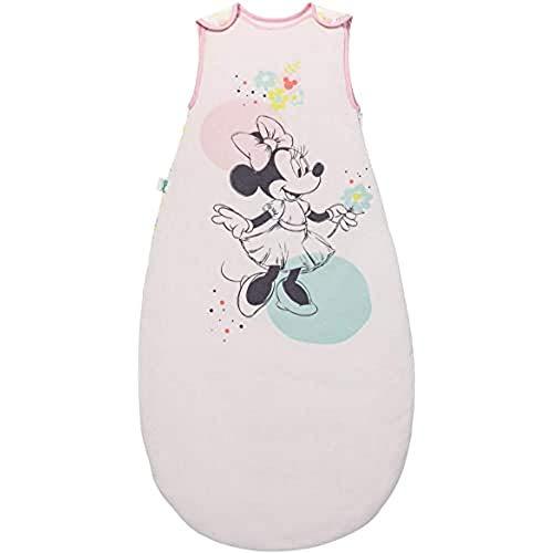 BabyCalin DIS402904 Verstellbarer Schlafsack, 100cm, Disney Minnie Floral, mehrfarbig, 1 Stück