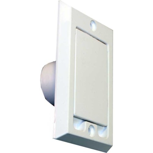 6 Pack of HAYDEN Central Vacuum Wall Inlets - White Square...