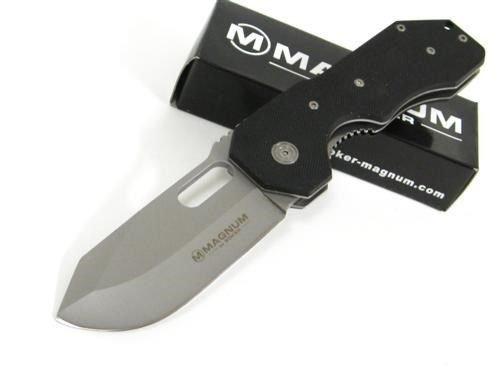 New BOKER Magnum 01YA073 Plain Folder Pocket ProTactical'US - Limited Edition - Elite Knife with Sharp Blade ! YA073