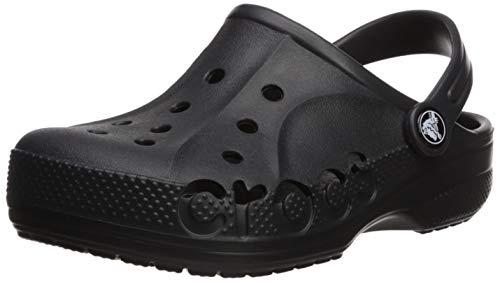 Crocs Baya Clog Kids, Zuecos Unisex Niños, Negro (Black 001