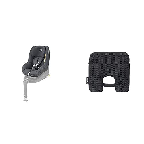 Maxi-Cosi Pearl Smart Silla de Coche i-Size, 6 Meses-4 Años, 9-18 kg, Gris (Authentic Graphite), 61 x 47.5 x 50 cm + e-Safety Dispositivo antiabandono para silla de coche