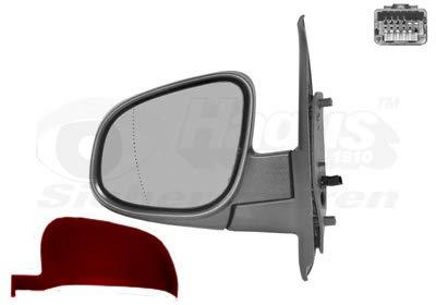 Retrovisor eléctrico izquierdo rojo para Renault Kangoo 6/13 hasta el final de...