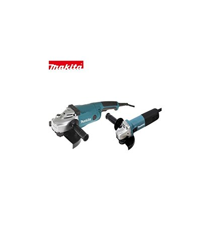 Makita LOT0032 230 mm 2200 W + haakse slijper 125 mm 840 W