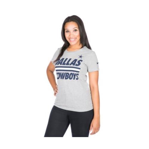 Dallas Cowboys Nike Womens Team Stripe Tee fc5d624e3