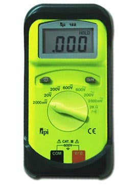 TPI 122 Handheld Multimeter - Type: Digital, Style: Hand-Held