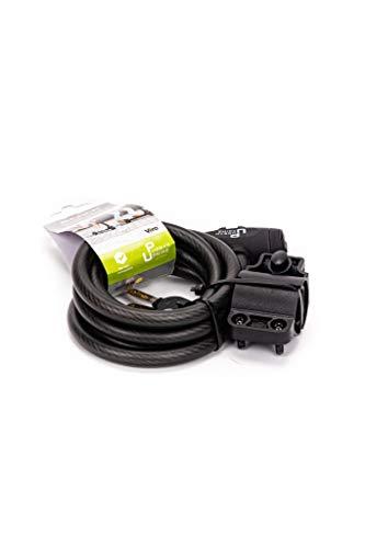 Urban Prime E- Lock Candado para patinetes eléctricos, Unisex Adulto, Negro, Talla...
