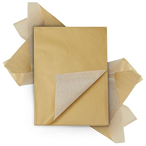 Gold Tissue Paper for Gift Wrapping Bags and Birthday Party (60 Sheets, 19.7 x 26 in)