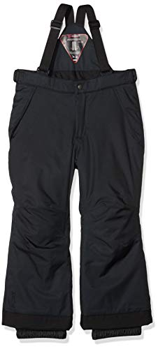 maier sports Kinder Skihose Maxi big, Schwarz, 152