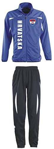 Aprom-Sports Kroatien Trainingsanzug - Sportanzug - S-XXL - Fußball Fitness (M)