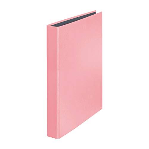 Original Falken PastellColor Ringbuch. Made in Germany. 2-D-Ring-Mechanik DIN A4 Füllhöhe 25 mm Flamingo-Pink Kalender Organizer Ring-Ordner Hefter Plastikordner ideal für Büro und Schule