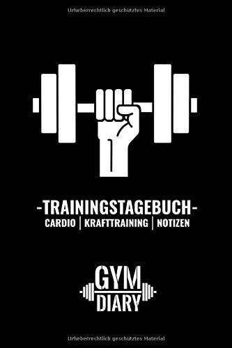 Trainingstagebuch, Krafttraining, Notizen: Gym diary: 110 Seiten workout log für dein Krafttraining im A5 Format [Basic Version highcontentbooks]