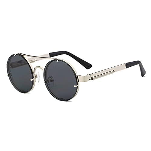 LUOXUEFEI Gafas De Sol Gafas De Sol Redondas Hombre Gafas De Sol Redondas Para Mujer Verano