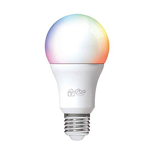 Lâmpada Inteligente Smart Lamp I2GO Home Wi-Fi LED 10W Bivolt - Compatível com Alexa