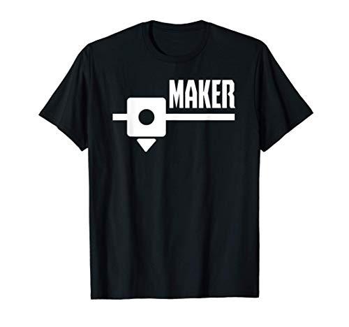 Creatore di stampa 3D per produttori di stampanti 3D Maglietta