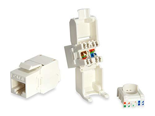 Equip Professional -modulaire invoer niet-afgeschermd, zonder gereedschap, type 2 wit
