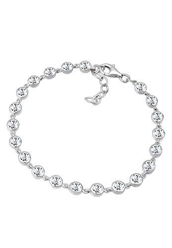 Elli PREMIUM Armband Swarovski® Kristalle 925 Sterling Silber