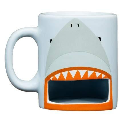 Funny Shark Biscuit Holder Mug