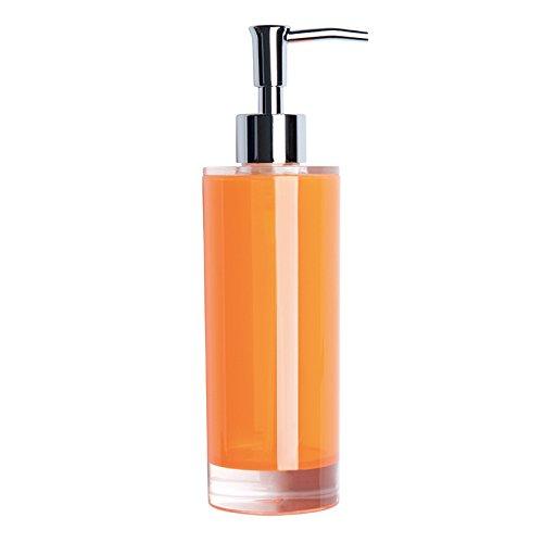 """Excelsa \""""Linea Bagno Naranja con Mango dispensador de 300 Ml"""