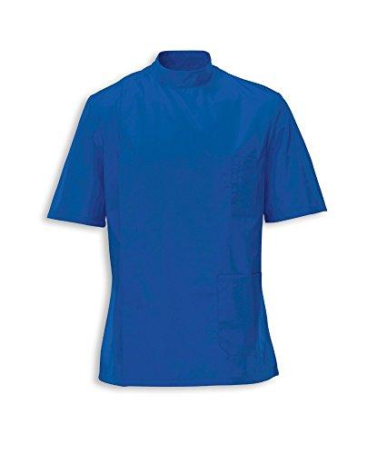 Instex Ins35HB - Túnica para Hombre para Enfermera, Dentista NHS y Veterinario, Color Azul hospitalario, INS35HB Azul Azul del Hospital S
