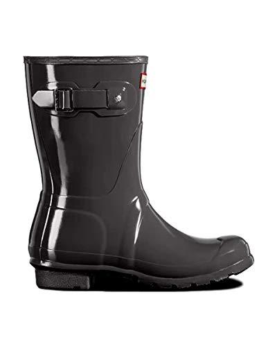 HUNTER Women's Original Short Gloss Rain Boots, 9