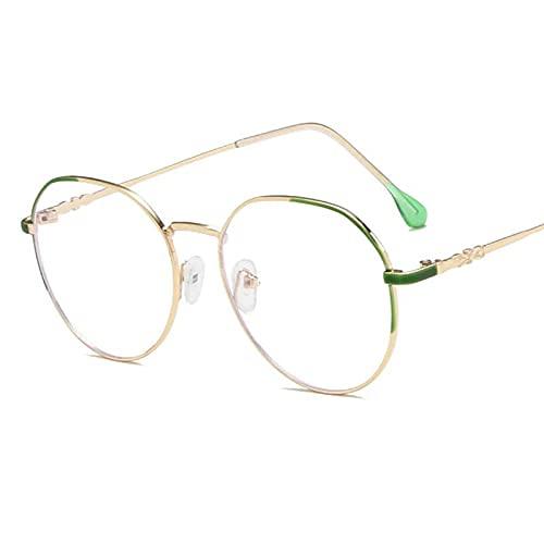 Xingang Gafas de bloqueo de luz azul lindo anti ojo tensión moda grandes marco gafas para lectura juego computadora