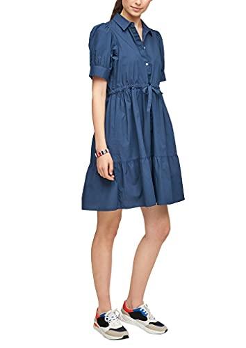 s.Oliver Damen Kleid kurz faded blue 44