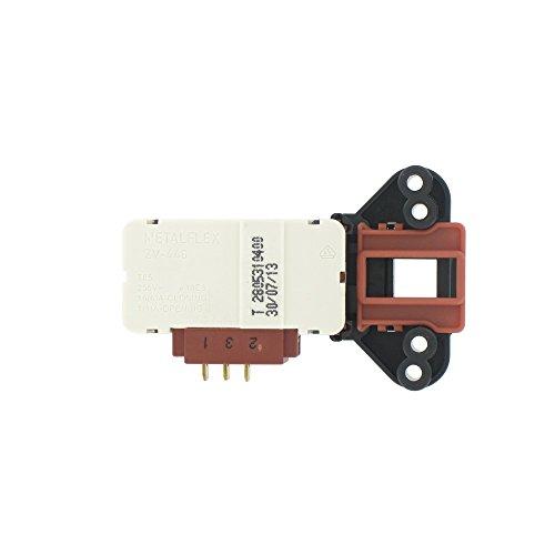Beko ZV-446 Türverriegelungsschalter mit 3 Türen, passend für Beko WMA510/WM1510/WMA1512/WMB10W Serie