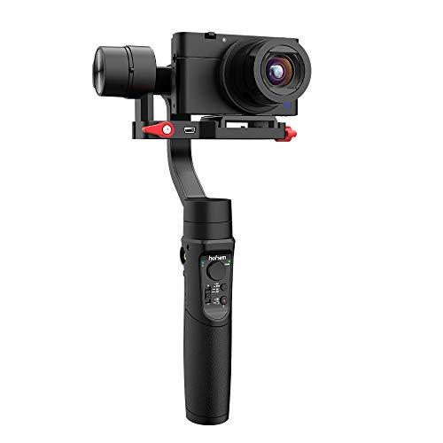 3-Achsen-Gimbal-Stabilisator für Digitalkamera/Action-Kamera/Smartphone, Vlog-Aufnahme, Inceptions-Sport-Modus, Timelapse, Playload 400g, hohem iSteady Multi