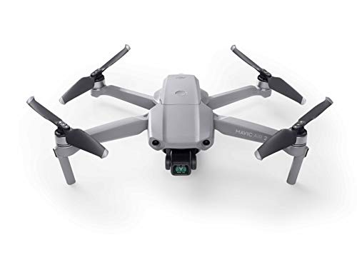 DJI Mavic Air 2 Mavic Air 2 -Drone FlyCam Quadcopter UAV with 3-Axis Gimbal 4K Video 48MP,34-Min Max Flight Time,10KM 1080p Video Transmission, Gray (MA2UE1N)