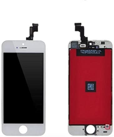 LCD Display + Touch Screen Digitizer Assembly Compatible With Apple iPhone 5S - White Color