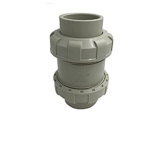 Grå icke-returventil vattenblock läckageskydd ventil i linje tvättmaskin diskmaskin ventil