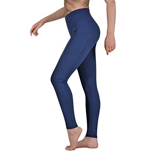 Gimdumasa Leggings de Sport Femmes Pantalon de Yoga Leggins avec Poches Yoga Fitness Gym Pilates...