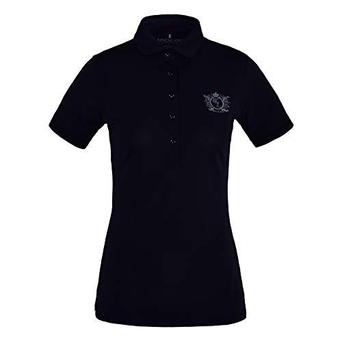Trayas Funktions-Polo-Shirt Damen Größe: L Farbe: Navy