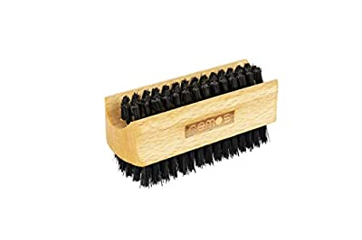 REMOS® Hand & Nail Brush Wild Boar Bristle - Local Beech Wood - Made in Germany by remos