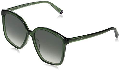 Tommy Hilfiger TH 1669/S gafas de sol, VERDE, 57 para Mujer