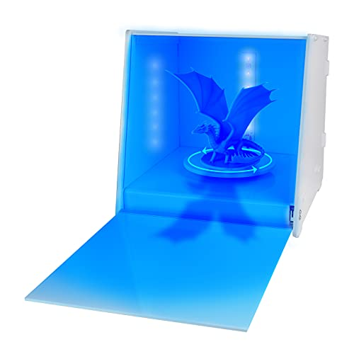 Aibecy UV Resin Curing Light Box, with 360° Rotating Turntable Smart Time Control for LCD DLP SLA 3D Printing Models SUNLU