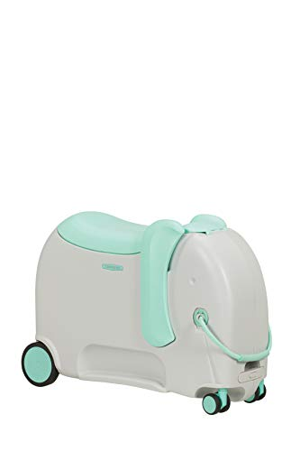 Samsonite Dream Rider Deluxe - Kindergepäck, 55 cm, 25 L, Grau (Elephant Minty)