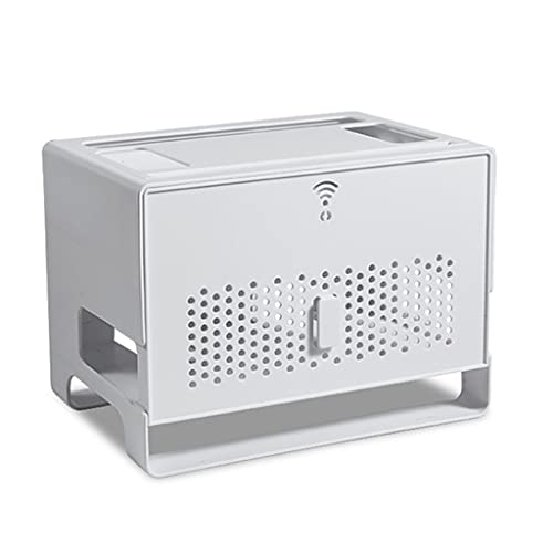 AERVEAL Caja de Almacenamiento de enrutador WiFi a Prueba de Polvo Caja...